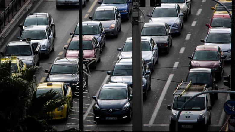 Μποτιλιάρισμα στην Αθηνών - Λαμίας λόγω τροχαίου
