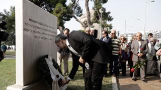 Θεσσαλονίκη: Έβαψαν με σπρέι το μνημείο απελευθέρωσης της πόλης από τους Γερμανούς