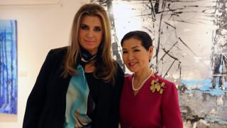 Μίνα Παπαθεοδώρου Βαλυράκη - Yumi Hogan: Διάλoγος μέσω της τέχνης