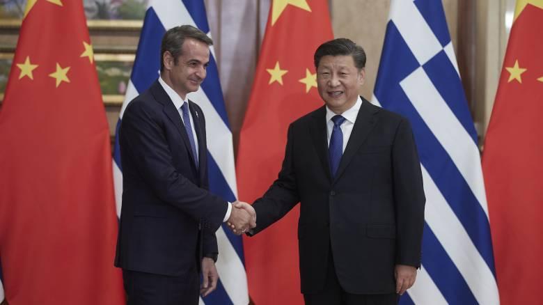 Μητσοτάκης σε πρόεδρο Κίνας: Είμαστε αποφασισμένοι να προσελκύσουμε ξένα κεφάλαια