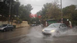 Χάος στους δρόμους της Αθήνας λόγω της κακοκαιρίας: Πού σημειώνονται προβλήματα
