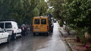 Τροχαίο με σχολικό λεωφορείο: Στο νοσοκομείο θα παραμείνουν δύο παιδιά