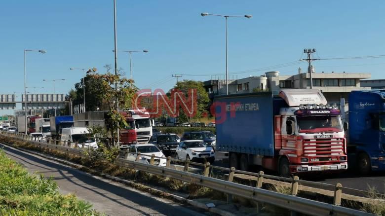 Ουρές χιλιομέτρων στην Αθηνών - Λαμίας λόγω έργων