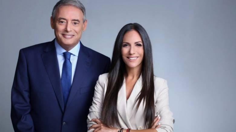 Σε συνεχή άνοδο η πρωινή εκπομπή του OPEN με Ιορδάνη Χασαπόπουλο και Ανθή Βούλγαρη