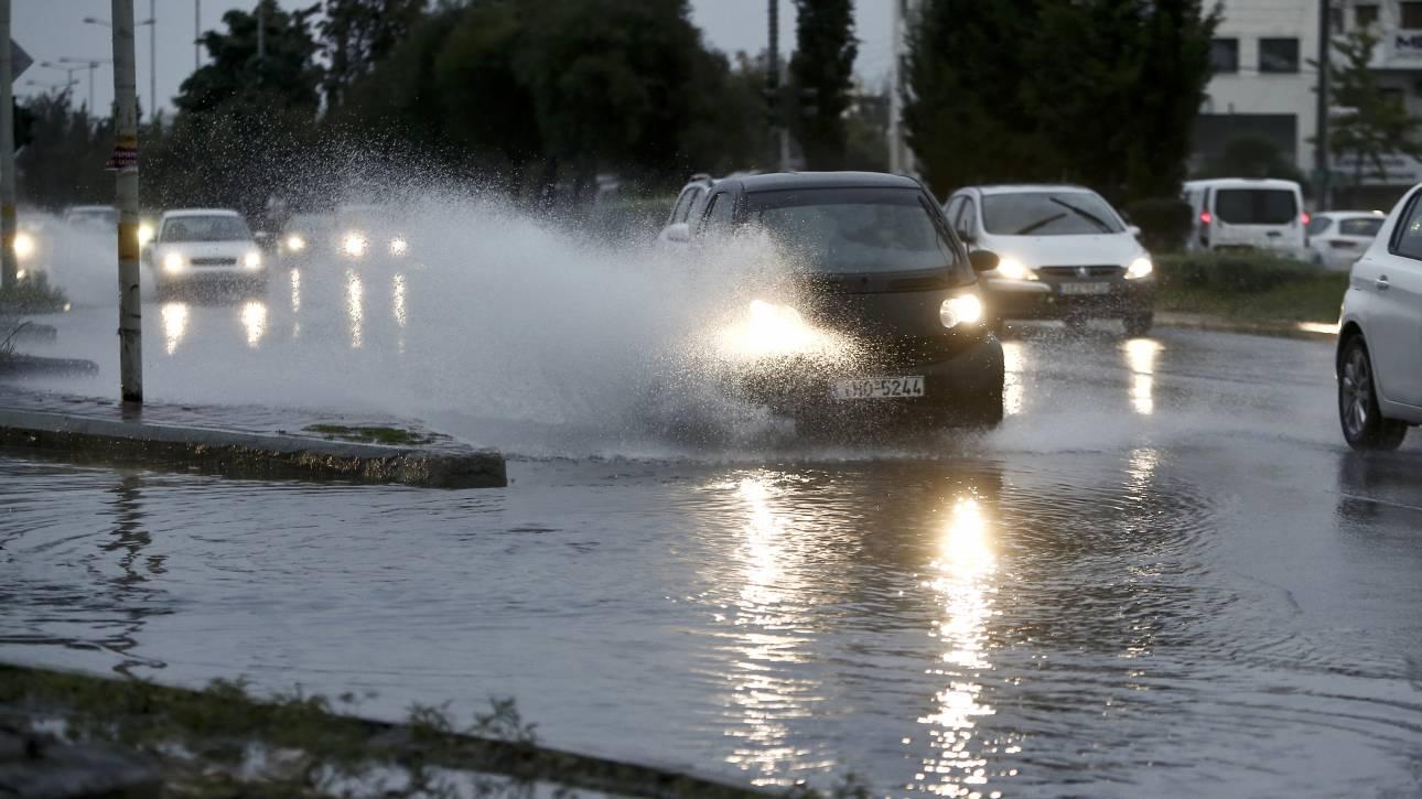 Έκτακτο δελτίο της ΕΜΥ: Ποιες περιοχές θα σαρώσουν ισχυρές καταιγίδες τις επόμενες ώρες