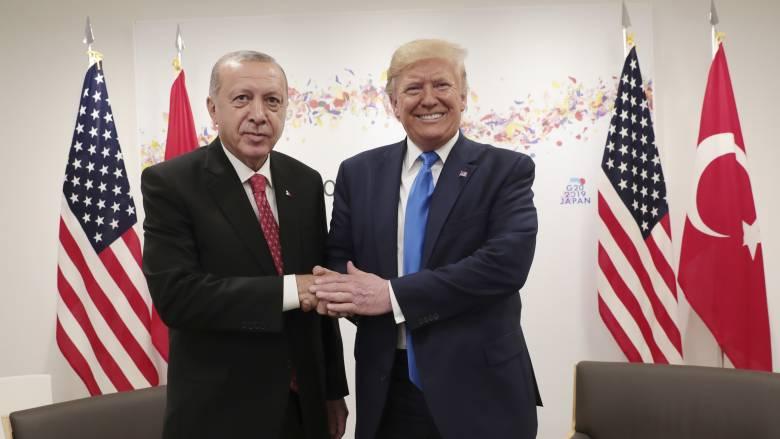 «Κλείδωσε» η συνάντηση Τραμπ - Ερντογάν στις ΗΠΑ
