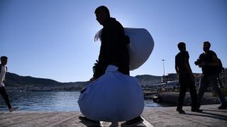 Στο λιμάνι του Πειραιά έφτασαν 168 πρόσφυγες από Μυτιλήνη και Χίο