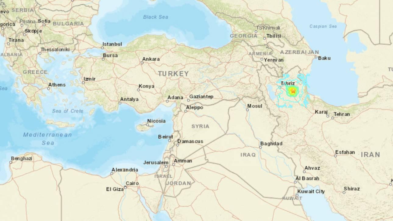 Σεισμός ταρακούνησε το Ιράν