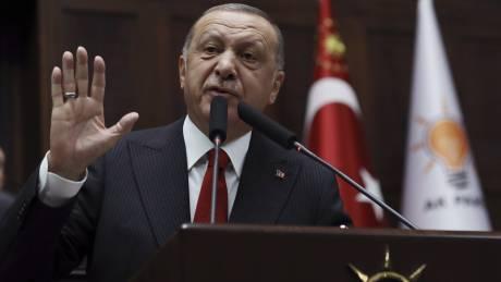«Πυρά» Ερντογάν: Το μόνο που νοιάζει την Ευρώπη είναι να εμποδίσει τις έρευνές μας στην Αν. Μεσόγειο
