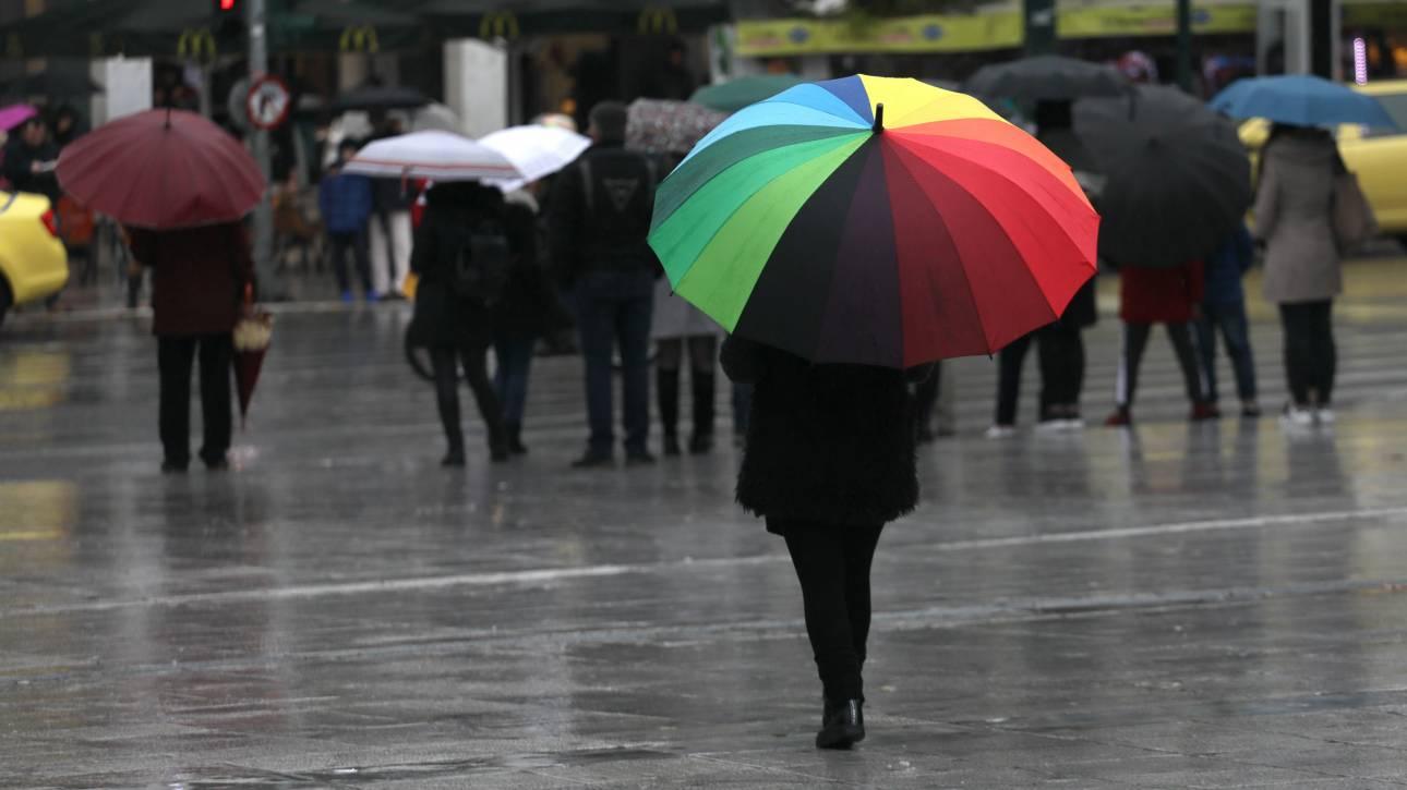 Καιρός: Πού αναμένονται σήμερα βροχές και καταιγίδες