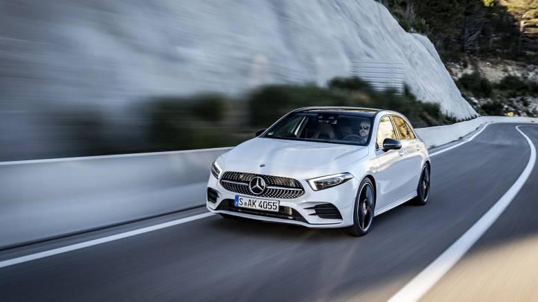 H Mercedes A-Class είναι το πιο τεχνολογικά προηγμένο αυτοκίνητο της κατηγορίας του