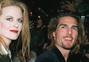 """1994, Λος Άντζελες. Οι ηθοποιοί Τομ Κρουζ και Νικόλ Κίντμαν, στην πρεμιέρα της ταινίας """"Συνέντευξη με ένα Βρυκόλακα"""", στο Λος Άντζελες."""