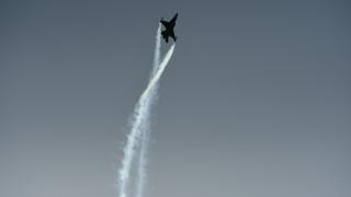 Μαχητικά αεροσκάφη στον ουρανό της Αττικής