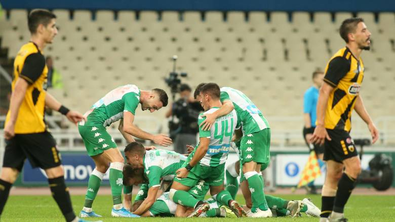 Παναθηναϊκός-ΑΕΚ 3-2: Απίστευτη ανατροπή και «πράσινη» νίκη