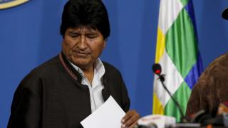Βολιβία: Παραιτήθηκε ο Εβο Μοράλες