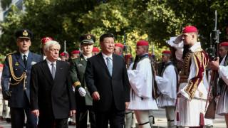 Στο Προεδρικό Μέγαρο ο Σι Τζινπίνγκ