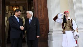 Σι Τζινπίνγκ σε Παυλόπουλο: Συνεργασία δύο μεγάλων πολιτισμών, όχι μόνο δύο χωρών