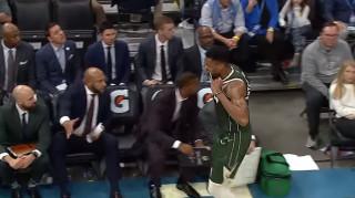 NBA: Το ξέσπασμα και η συγγνώμη του Αντετοκούνμπο