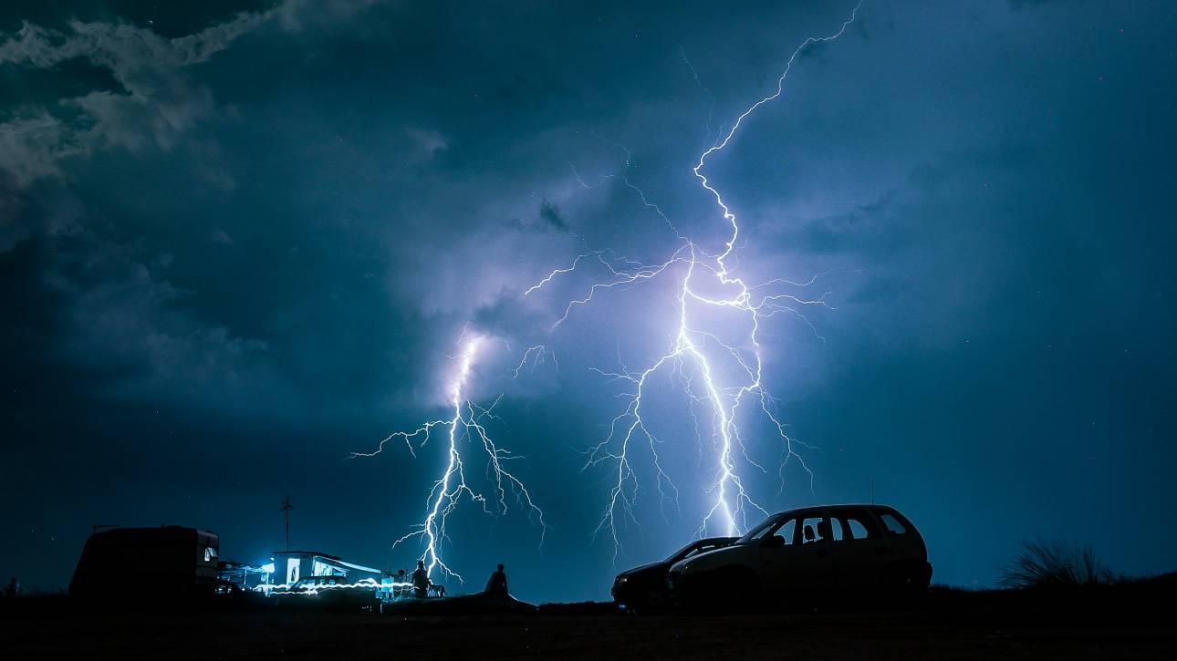 Έκτακτο δελτίο επιδείνωσης καιρού από την ΕΜΥ: Βροχές, καταιγίδες και χαλάζι