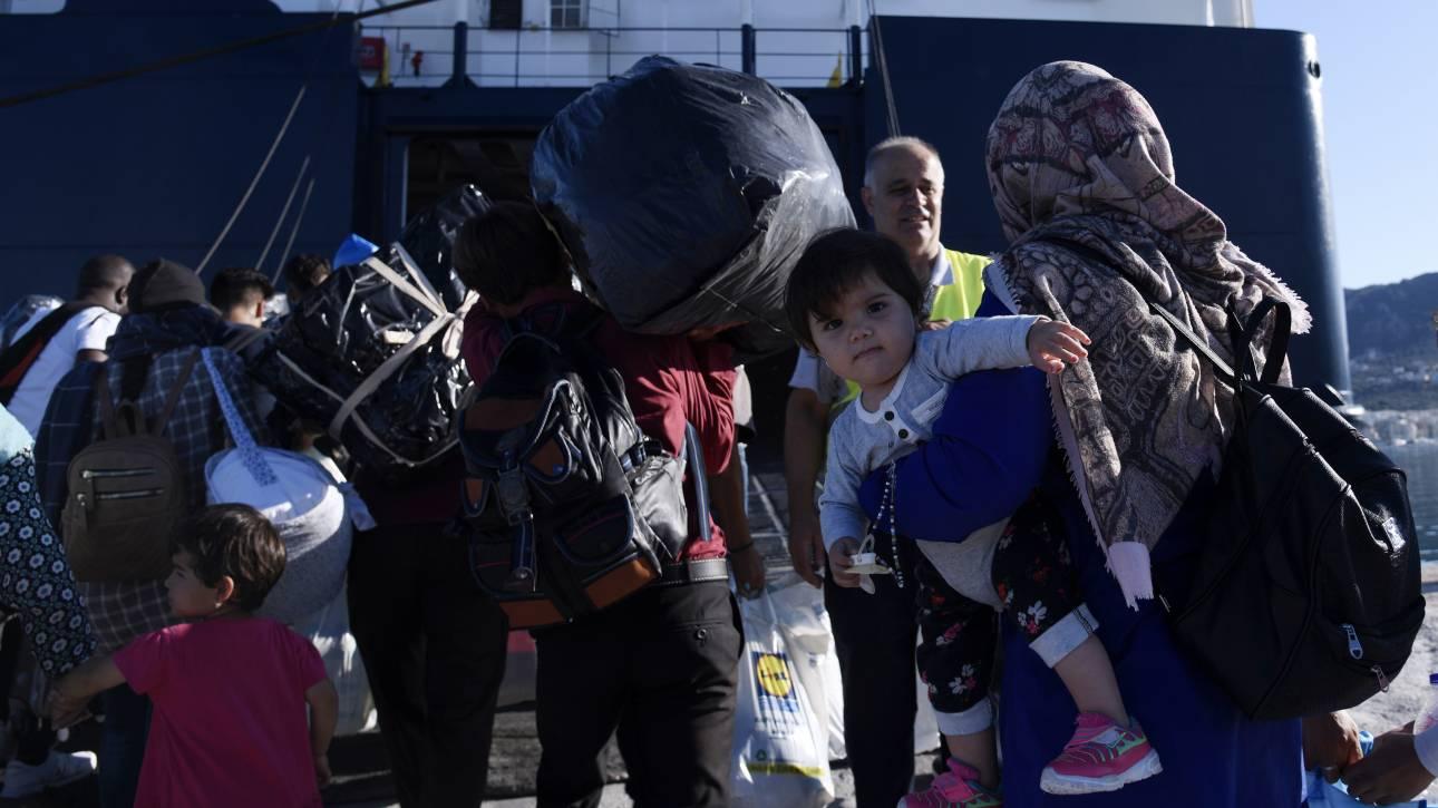 Βόλος: Έφτασαν οι πρώτοι πρόσφυγες από δομές των νησιών του Αιγαίου