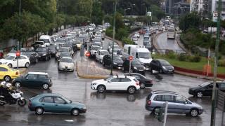 Κυκλοφοριακό χάος στην Αθήνα - Πού εντοπίζονται τα έντονα προβλήματα