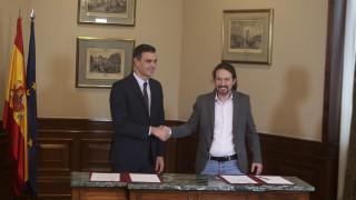 Ισπανία: Προκαταρκτική συμφωνία Σάντσεθ-Ιγκλέσιας για σχηματισμό κυβέρνησης
