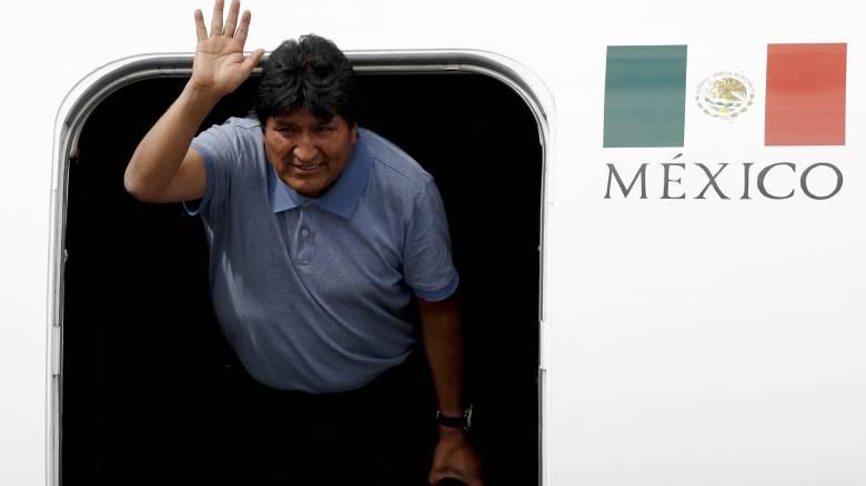 Στο Μεξικό ο Μοράλες: «Η μάχη συνεχίζεται»
