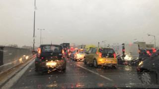 Η «Βικτώρια» έφερε κυκλοφοριακό κομφούζιο στην Αθήνα – Ποιους δρόμους να αποφύγετε