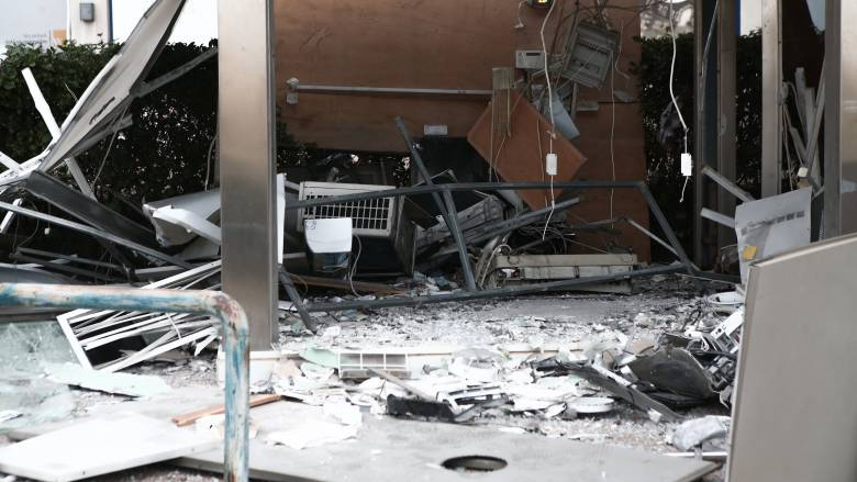 Ανατίναξαν μηχάνημα ΑΤΜ στην Αργυρούπολη