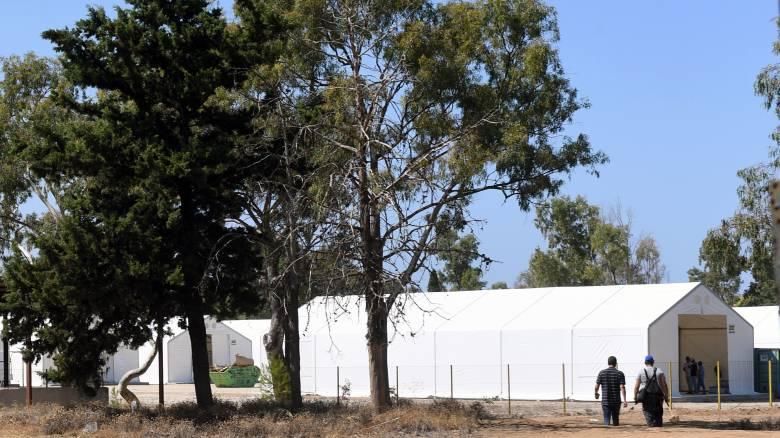 Ημαθία: Φθορές σε κολώνες της ΔΕΗ έξω από δομή φιλοξενίας προσφύγων προκάλεσαν άγνωστοι