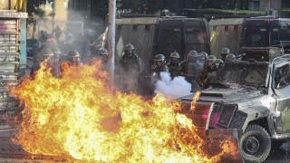 Νέες συγκρούσεις στη Χιλή: Αυξήθηκαν οι νεκροί - Μολότοφ, πέτρες και δακρυγόνα στο Σαντιάγο