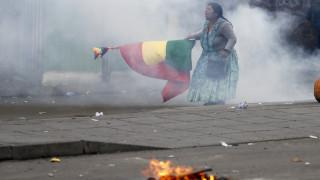 Βολιβία: Οι ΗΠΑ αναγνώρισαν την Άνιες ως μεταβατική πρόεδρο – Συνεχίζονται οι φονικές συγκρούσεις