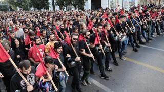Σε εξέλιξη το φοιτητικό συλλαλητήριο στο κέντρο της Αθήνας - Κλειστοί οι δρόμοι (pics)
