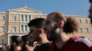 Καρέ - καρέ το φοιτητικό συλλαλητήριο στο κέντρο της Αθήνας