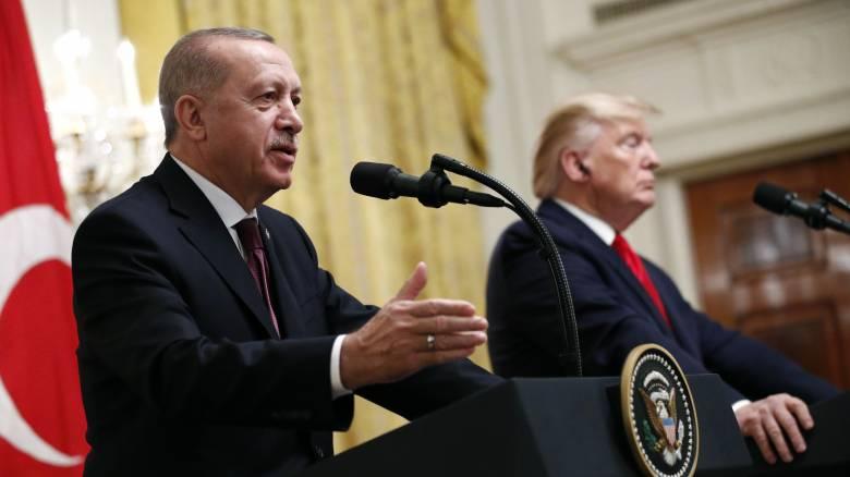 Η προσέγγιση Τραμπ - Ερντογάν ανησυχεί Αθήνα και Λευκωσία