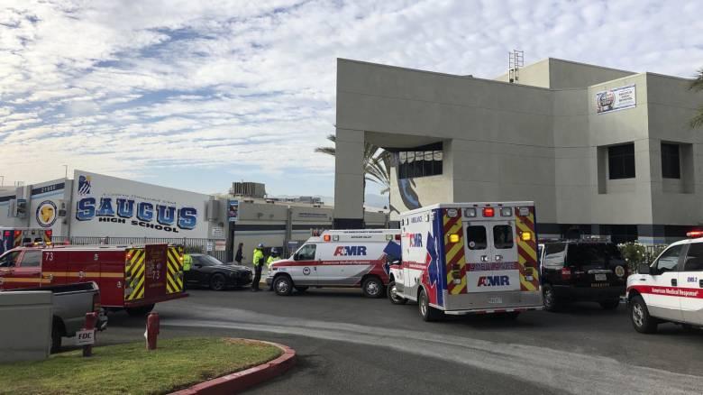 Πυροβολισμοί σε σχολείο στην Καλιφόρνια: Μία νεκρή, αρκετοί τραυματίες – Συνελήφθη ο δράστης