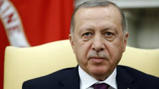 Ερντογάν: Δεν θα επιτρέψουμε να παραβιαστούν τα δικαιώματα των Τουρκοκυπρίων