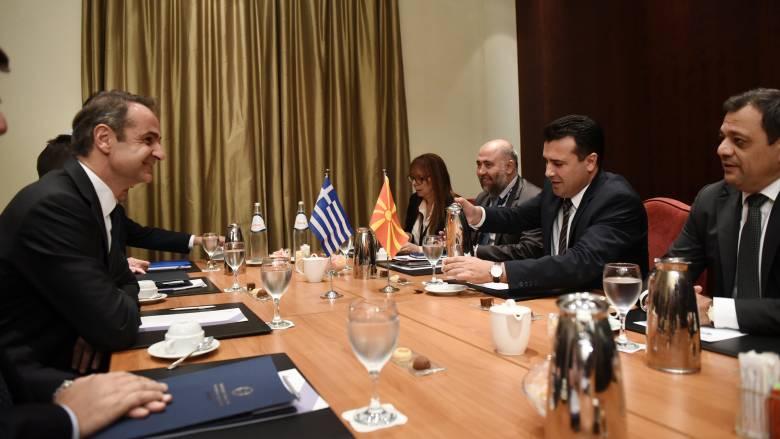 Το ευρωπαϊκό μέλλον της Βόρειας Μακεδονίας στο επίκεντρο της συνάντησης Μητσοτάκη-Ζάεφ
