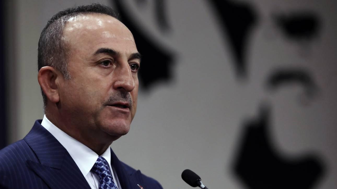 Τσαβούσογλου: Θα συνεχίσουμε να υπερασπιζόμαστε τους Τουρκοκύπριους με αποφασιστικότητα