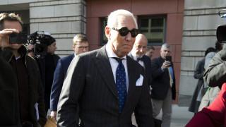 ΗΠΑ: Ένοχος για επτά κατηγορίες ο πρώην συνεργάτης του Τραμπ, Ρότζερ Στόουν