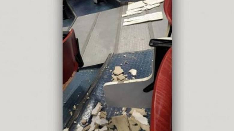 Δημοκρίτειο Πανεπιστήμιο Θράκης: Κατέρρευσε μέρος της οροφής κατά τη διάρκεια μαθήματος