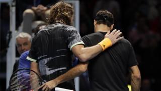 Τσιτσιπάς για τη νίκη επί του Φέντερερ: Νιώθω πολύ υπερήφανος για τον εαυτό μου
