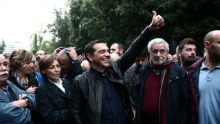 Πολυτεχνείο 2019: Στην πορεία ο Αλέξης Τσίπρας - Επικεφαλής του μπλοκ του ΣΥΡΙΖΑ