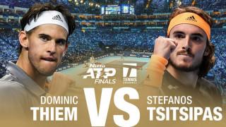 Τιμ VS Τσιτσιπάς: Live η μεγάλη «μάχη» για το τρόπαιο του ATP Finals