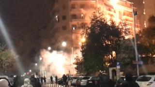 Επεισόδια στη Θεσσαλονίκη: Φωτιές και μολότοφ μετά την πορεία