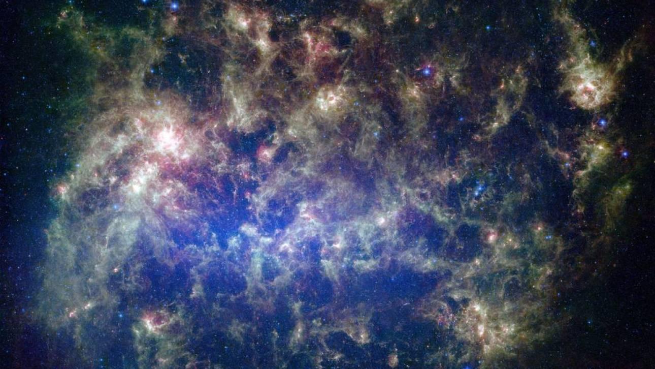 Γαλαξίας – «παγώνι»: Η θεαματική αποκάλυψη αστρονόμων για το Μέγα Νέφος του Μαγγελάνου