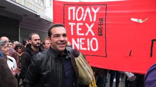 Τσίπρας για πορεία Πολυτεχνείου: Η πρώτη μαζική και ειρηνική αντικυβερνητική διαδήλωση