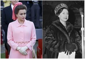 Η Έλενα Μπόναμ Κάρτερ (αροστερά) θα είναι η πριγκίπισσα Μαργαρίτα.