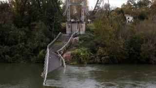 Γαλλία: Δύο νεκροί από την κατάρρευση γέφυρας σε ποταμό