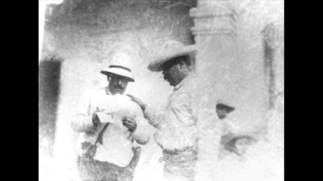 1920, Μεξικό. Ο Πάντσο Βίγια, Μεξικανός επαναστάτης και ηγέτης των ανταρτών.